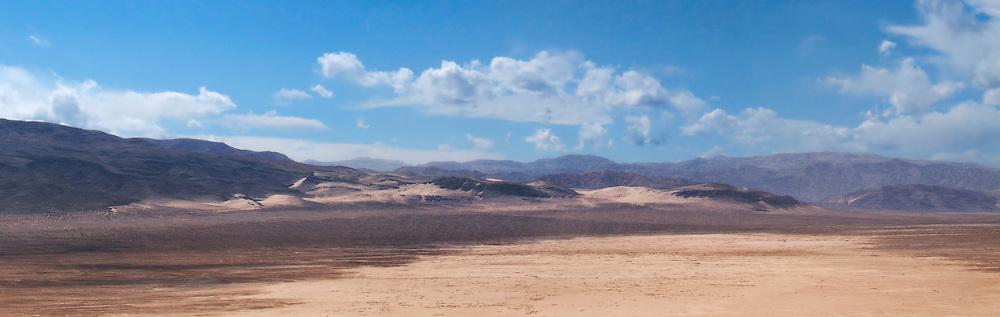 Eureka Valley, Saline Range and Yoho Mountains