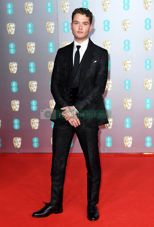 attending the 73rd British Academy Film Awards held at the Royal Albert Hall, London. Photo credit should read: Doug Peters/EMPICS Entertainment