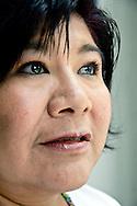 Celerina Sánchez es una poeta ñuu savi, además de ser lingüista.
