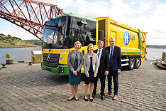 Fife's Hydrogen dual-fuel bin lorry | North Queensferry | 20 May 2016