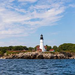 Portland Head Light in South Portland, Maine.