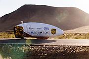 De VeloX 7 met Iris Slappendel tijdens de derde racedag. Het Human Power Team Delft en Amsterdam, dat bestaat uit studenten van de TU Delft en de VU Amsterdam, is in Amerika om tijdens de World Human Powered Speed Challenge in Nevada een poging te doen het wereldrecord snelfietsen voor vrouwen te verbreken met de VeloX 7, een gestroomlijnde ligfiets. Het record is met 121,44 km/h sinds 2009 in handen van de Francaise Barbara Buatois. De Canadees Todd Reichert is de snelste man met 144,17 km/h sinds 2016.<br /> <br /> With the VeloX 7, a special recumbent bike, the Human Power Team Delft and Amsterdam, consisting of students of the TU Delft and the VU Amsterdam, wants to set a new woman's world record cycling in September at the World Human Powered Speed Challenge in Nevada. The current speed record is 121,44 km/h, set in 2009 by Barbara Buatois. The fastest man is Todd Reichert with 144,17 km/h.
