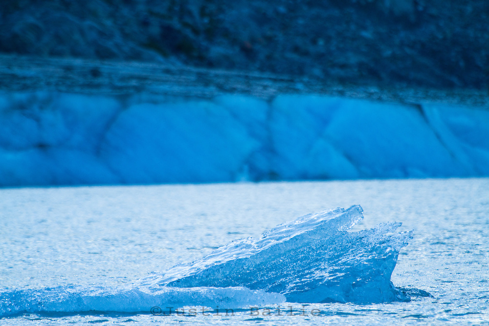 """Glacier as seen near the Tashenshini River. The """"Tat"""" flows out of Yukon, CA, through British Columbia and empties into Glacier Bay National Park in Alaska, US."""
