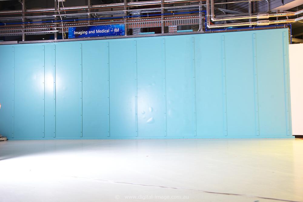 IMBL, Imaging and Medical Beam Line, Australian Synchrotron, Anton Tadich walking across frame.