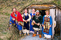 Norstead (replica Viking Age port of trade), L'Anse aux Meadows, western Newfoundland, Canada