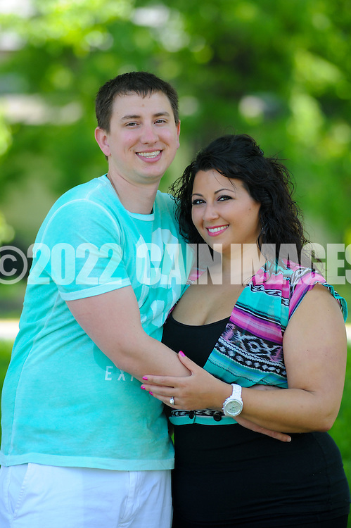 LAHASKA, PA - MAY 13: Lily and Tom are photographed May 13, 2012 at Peddler's Village in Lahaska, Pennsylvania. (Photo by William Thomas Cain/Cain Images)