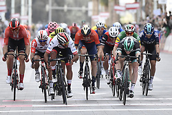 March 2, 2019 - Dubai, Emirati Arabi Uniti, Emirati Arabi Uniti - Foto LaPresse - Fabio Ferrari.02 Marzo 2019 Dubai (Emirati Arabi Uniti).Sport Ciclismo.UAE Tour 2019 - Tappa 7 - da Dubai Safari Park a City Walk - 145 km.Nella foto: Sam Bennett (Bora - Hansgrohe)..Photo LaPresse - Fabio Ferrari.March 02, 2019 Dubai (United Arab Emirates) .Sport Cycling.UAE Tour 2019 - Stage 7 - From Dubai Safari Park to City Walk  - 90 miles..In the pic: Sam Bennett  (Credit Image: © Fabio Ferrari/Lapresse via ZUMA Press)