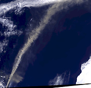 Iceland's Eyjafjallajökull volcano produced its second major ash plume of 2010 beginning on May 7. Unlike the response to the earlier eruption, which began on April 14, 2010, the reaction to the new plume was better informed. Aircraft were diverted as needed to avoid damage, and again some airports were closed. But across Europe, planes were not grounded altogether, in part because computer models were used to predict the spread of volcanic ash. Most air passengers completed their journeys with minimal delay. Among the key constraints required to run volcanic plume simulation models are the height to which ash is injected into the atmosphere, and the amount and timing of ash released. The Multi-angle Imaging Spectroradiometer (MISR) instrument aboard NASA's Terra satellite passed just east of the Eyjafjallajökull volcano mid-morning on May 7, 2010