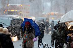 DEC 26 2012 Winter Storm in Manhattan