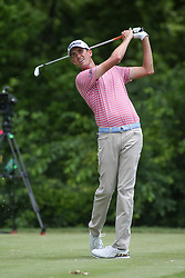 May 25, 2019 - Fort Worth, TX, U.S. - FORT WORTH, TX - MAY 25: Chesson Hadley hits from the 8th tee during the third round of the Charles Schwab Challenge on May 25, 2019 at Colonial Country Club in Fort Worth, TX. (Photo by George Walker/Icon Sportswire) (Credit Image: © George Walker/Icon SMI via ZUMA Press)