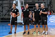 DESCRIZIONE : 3° Torneo Internazionale Geovillage Olbia Sidigas Scandone Avellino - Brose Basket Bamberg<br /> GIOCATORE : Staff Tecnico<br /> CATEGORIA : Before Pregame<br /> SQUADRA : Sidigas Scandone Avellino<br /> EVENTO : 3° Torneo Internazionale Geovillage Olbia<br /> GARA : 3° Torneo Internazionale Geovillage Olbia Sidigas Scandone Avellino - Brose Basket Bamberg<br /> DATA : 05/09/2015<br /> SPORT : Pallacanestro <br /> AUTORE : Agenzia Ciamillo-Castoria/L.Canu