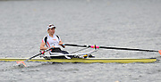 Hazewinkel, BELGIUM,  Women's Single Sculls, GBR W1X, Katie SOLESBURY [GREAVES] at the British Rowing Senior Trails, Bloso Rowing Centre. Sunday,  11/04/2010. [Mandatory Credit. Peter Spurrier/Intersport Images]