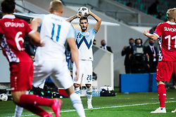Petar Stojanovic of Slovenia during the UEFA Nations League C Group 3 match between Slovenia and Moldova at Stadion Stozice, on September 6th, 2020. Photo by Grega Valancic / Sportida