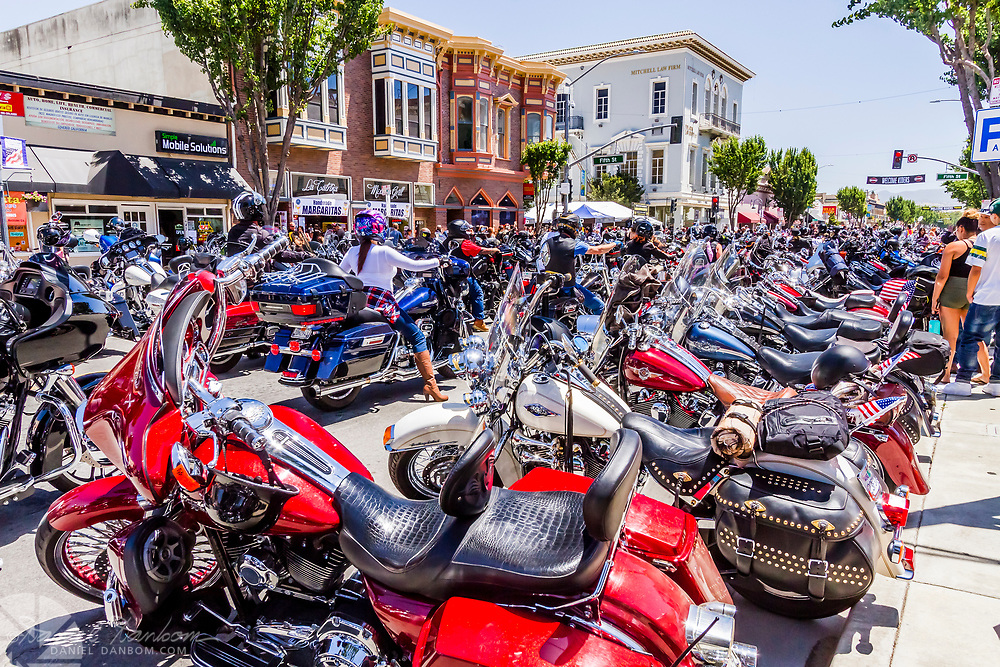 Independece Motorcycle Rally, Hollister, California, 2017