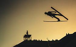 29.09.2018, Energie AG Skisprung Arena, Hinzenbach, AUT, FIS Ski Sprung, Sommer Grand Prix, Hinzenbach, im Bild Evgeniy Klimov (RUS) // Evgeniy Klimov of Russian Federation during FIS Ski Jumping Summer Grand Prix at the Energie AG Skisprung Arena, Hinzenbach, Austria on 2018/09/29. EXPA Pictures © 2018, PhotoCredit: EXPA/ JFK
