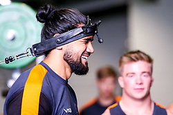 Michael Fatialofa of Worcester Warriors during preseason training ahead of the 2019/20 Gallagher Premiership Rugby season - Mandatory by-line: Robbie Stephenson/JMP - 06/08/2019 - RUGBY - Sixways Stadium - Worcester, England - Worcester Warriors Preseason Training 2019