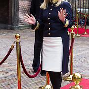 NLD/Den Haag/20130917 -  Prinsjesdag 2013, Minister van Defensie Jeanine Hennis-Plasschaert