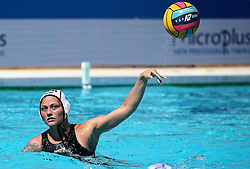 July 19, 2018 - Barcelona, Spain - IRA DEIKE (Germany) during the match between Turkey and Germany, corresponding to the women group stage of the European Water Polo Championship in Barcelona. (Credit Image: © Joan Valls/NurPhoto via ZUMA Press)