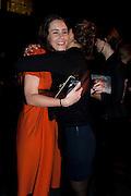 PAULA HANNEMANN; CLARA MEISTER The Unilever Series: Tacita Dean. Tate Modern. London. 10 October 2011. <br /> <br />  , -DO NOT ARCHIVE-© Copyright Photograph by Dafydd Jones. 248 Clapham Rd. London SW9 0PZ. Tel 0207 820 0771. www.dafjones.com.