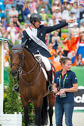 Patrice Delaveau and Orient Express HDC win silver individual jumping - Show Jumping Final Four - Alltech FEI World Equestrian Games™ 2014 - Normandy, France.<br /> © Hippo Foto Team - Leanjo de Koster<br /> 07-09-14