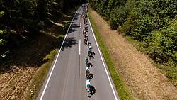 03.07.2017, Wien, AUT, Ö-Tour, Österreich Radrundfahrt 2017, 1. Etappe von Graz nach Wien (193,9 km), im Bild Peleton bei Stögersbach // during the 1st stage from Graz to Vienna (193,9 km) of 2017 Tour of Austria. Wien, Austria on 2017/07/03. EXPA Pictures © 2017, PhotoCredit: EXPA/ JFK