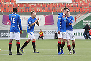 GOAL Rangers midfielder Ryan Jack (8) scores the openign goal to make it 0-1 and celebrates during the Ladbrokes Scottish Premiership match between Hamilton Academical FC and Rangers at New Douglas Park, Hamilton, Scotland on 24 February 2019.