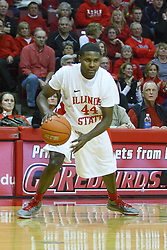 29 December 2011:  Johnny Hill during an NCAA mens basketball game between the Northern Illinois Panthers and the Illinois State Redbirds in Redbird Arena, Normal IL