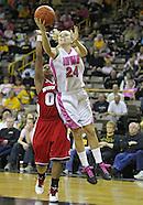 NCAA Women's Basketball - Wisconsin at Iowa - February 16, 2011