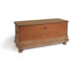Antique blanket chest