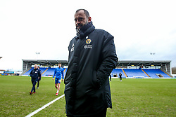 Wolverhampton Wanderers manager Nuno arrives at Montgomery Water Meadow for the FA Cup Fourth Round tie against Shrewsbury Town - Mandatory by-line: Robbie Stephenson/JMP - 26/01/2019 - FOOTBALL - Montgomery Waters Meadow - Shrewsbury, England - Shrewsbury Town v Wolverhampton Wanderers - Emirates FA Cup fourth round