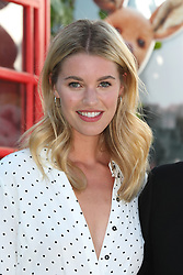 Hannah Cooper attends the European premiere of Christopher Robin at the BFI Southbank in London.