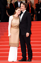 August Diehl (right) and Valerie Pachner attending A Hidden Life Premiere, during the 72nd Cannes Film Festival. Photo credit should read: Doug Peters/EMPICS