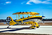 A fully aerobatic, 180 horsepower aircraft, the new Great Lakes biplane features extraordinary handling attributes and great instrumentation. While very similar to the WACO YMF-5D model, the new Great Lakes biplane is smaller, featuring simple avionics and systems.    <br />