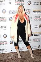 Jodie Marsh, London Lifestyle Awards, Lancaster London Hotel UK, 03 October 2016, Photo by Richard Goldschmidt