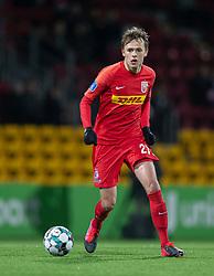 Mikkel Damsgaard (FC Nordsjælland) under kampen i 3F Superligaen mellem FC Nordsjælland og AC Horsens den 19. februar 2020 i Right to Dream Park, Farum (Foto: Claus Birch).