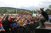 Hærmætti Tysland Band. Sommerfestivalen i Selbu er en av Norges største musikkfestivaler. Sommerfestivalen is one of the biggest music festivals in Norway.