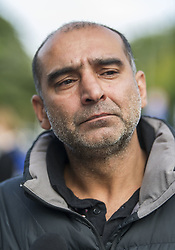 March 16, 2019 - Christchurch, Canterbury, New Zealand - Yama Nabi, whose 71-year-old father Haji-DaoudÊNabi was one of 41 people killed at the Al Noor mosque. He said of the gunman, ''he's a devil. (Credit Image: © PJ Heller/ZUMA Wire)