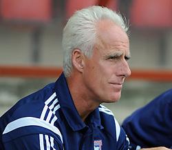 Ipswich Town Manager, Mick McCarthy - photo mandatory by-line David Purday JMP- Tel: Mobile 07966 386802 02/08/14 - Leyton Orient v Ipswich Town - SPORT - FOOTBALL - Pre season - London -  Matchroom Stadium