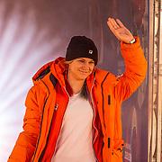 NLD/Amsterdam/20180226 - Thuiskomst TeamNL, Cheryl Maas