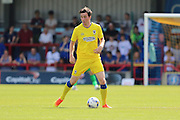 AFC Wimbledon defender Sean Kelly (30) during the Pre-Season Friendly match between AFC Wimbledon and Reading at the Cherry Red Records Stadium, Kingston, England on 23 July 2016. Photo by Stuart Butcher.