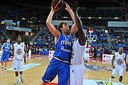 PESARO 11 MARZO 2012<br /> BASKET ALL STAR GAME<br /> ITALIA - ALL STARS<br /> NELLA FOTO MELLI<br /> FOTO CIAMILLO