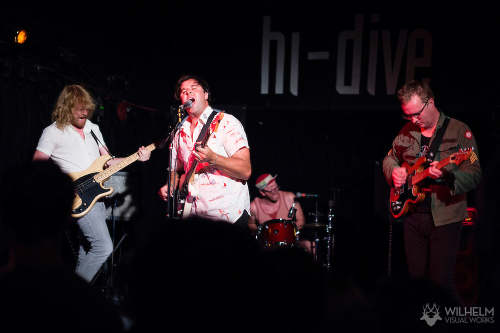 Ned Garthe Explosion performs at the Hi-Dive during the Underground Music Showcase in Denver, CO, USA, on 25 July, 2015.