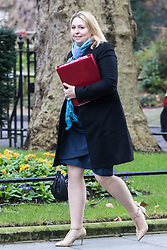 Downing Street, London, January 17th 2017. Secretary of State for Culture, Media and Sport Karen Bradley arrives at the weekly cabinet meeting at 10 Downing Street.