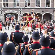 NLD/Den Haag/20170919 - Prinsjesdag 2017, de koets