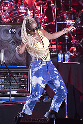 July 4, 2017 - Philadelphia, Pennsylvania, U.S - Iconic Grammy Award-winning singer, songwriter, actress and philanthropist, MARY J BLIGE, performing at the Welcome America 4th of July concert on the historic Benjamin Franklin Parkway in Philadelphia PA (Credit Image: © Ricky Fitchett via ZUMA Wire)