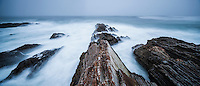 Rugged coastal landscape at Montana De Oro State Park, California