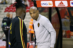 October 12, 2018 - Bruxelles, Belgique - Thierry Henry ass. coach of Belgian Team (Credit Image: © Panoramic via ZUMA Press)