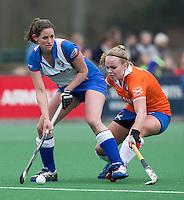 BLOEMENDAAL - van Bloemendaal tijdens de overgangsklasse competitiewedstrijd hockey tussen de vrouwen van Bloemendaal en Zwolle (2-0). COPYRIGHT KOEN SUYK