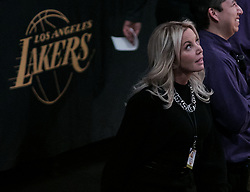 January 4, 2019 - Los Angeles, California, U.S - Owner, Jeanie Buss of the Los Angeles Lakers attends their NBA game with the New York Knicks on Friday January 4, 2019 at the Staples Center in Los Angeles, California. (Credit Image: © Prensa Internacional via ZUMA Wire)
