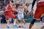 DESCRIZIONE : Eurolega Euroleague 2015/16 Group D Dinamo Banco di Sardegna Sassari - Brose Basket Bamberg<br /> GIOCATORE : David Logan<br /> CATEGORIA : Passaggio Penetrazione<br /> SQUADRA : Dinamo Banco di Sardegna Sassari<br /> EVENTO : Eurolega Euroleague 2015/2016<br /> GARA : Dinamo Banco di Sardegna Sassari - Brose Basket Bamberg<br /> DATA : 13/11/2015<br /> SPORT : Pallacanestro <br /> AUTORE : Agenzia Ciamillo-Castoria/L.Canu
